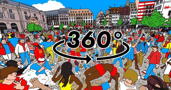 360 Where's Waldo?