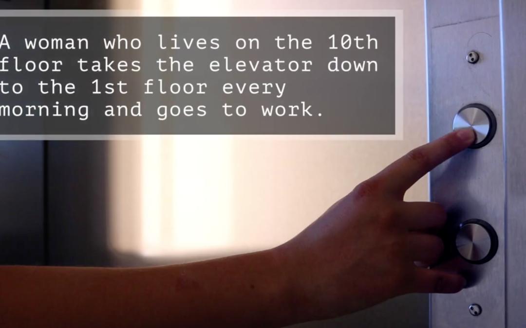 Elevator Riddle